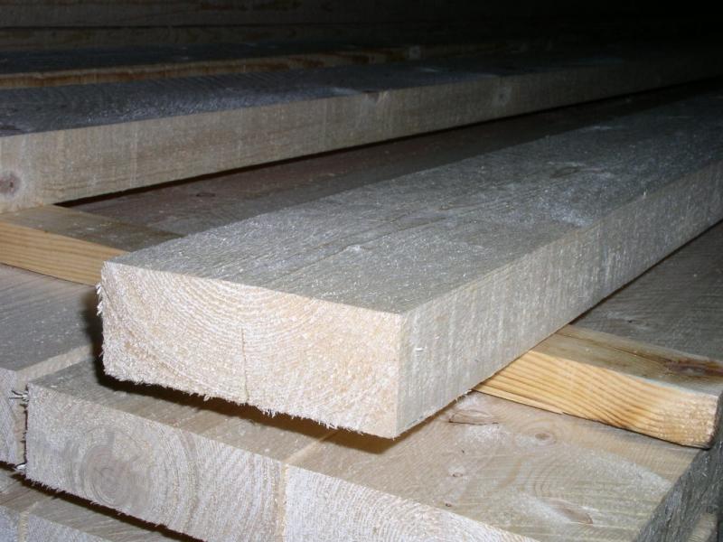 Доска обрезная 1 - 3 сорта из древесины Северного леса