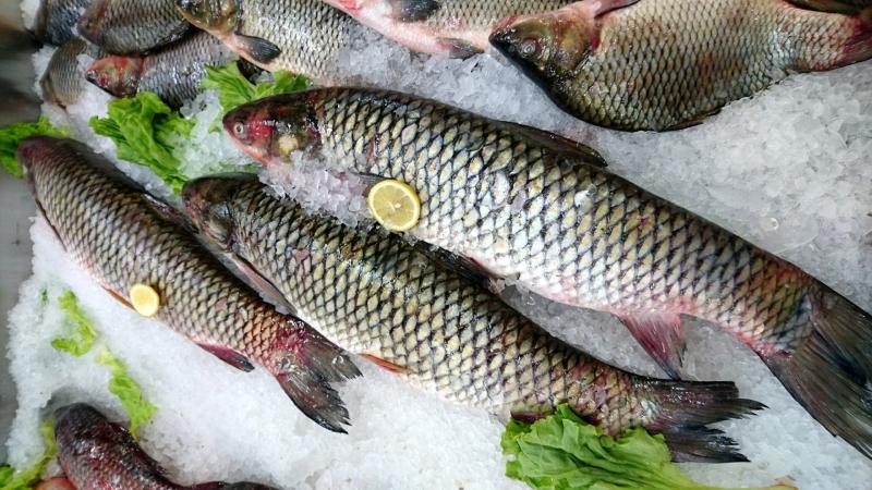 Свежая мороженая рыбка из Астрахани.