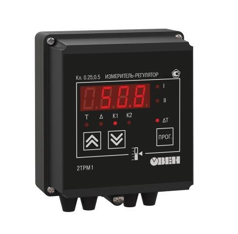 2трм1 двухканальный измеритель регулятор