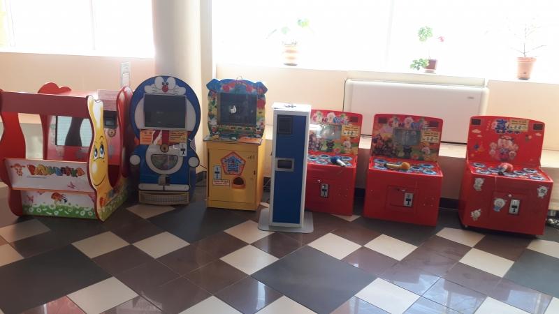 Детские игровые аппараты автоматы
